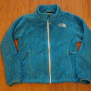 The North Face Girls XS (6) Teal Fleece Jacket